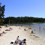 The nearby Lake Jamaye