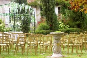 Chateau Des Etoiles Weddings outside